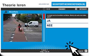 gratis scooter theorie-examen